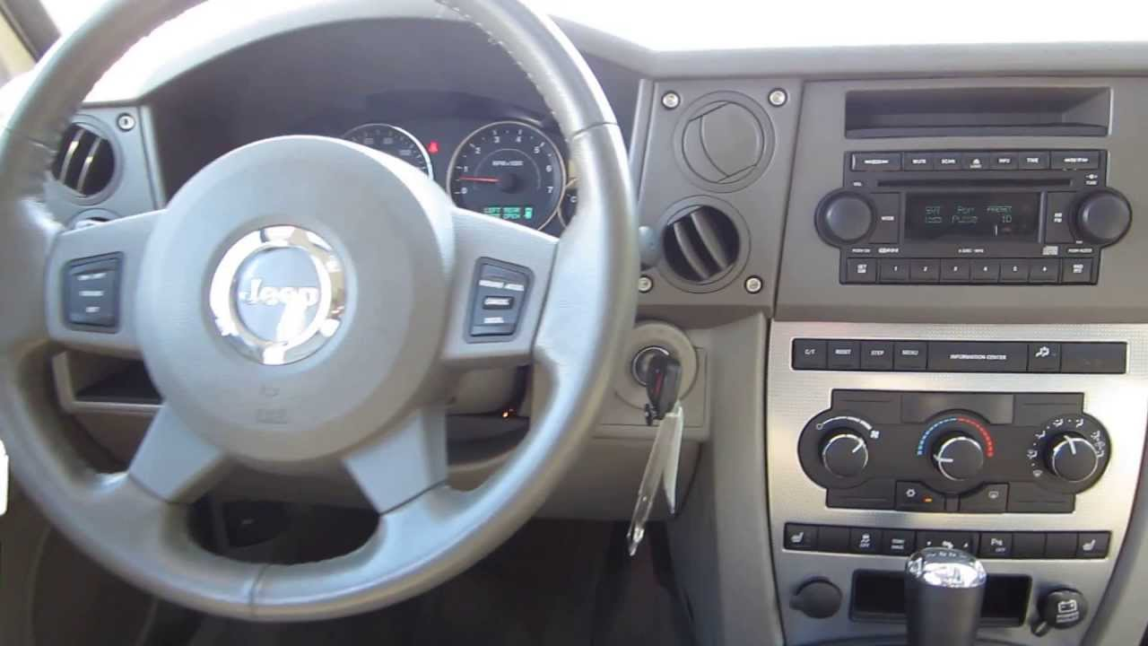 2006 jeep commander stock 131374a interior youtube. Black Bedroom Furniture Sets. Home Design Ideas