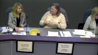 School Board Meeting 1/22/2018 - School District of Holmen