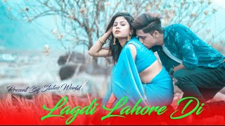 Lagdi Lahore Di | Cute Love Story | Street Dancer 3D |Varun Shraddha |Guru Randhawa |By Status World
