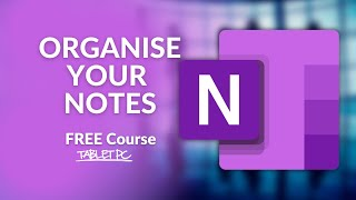 How to ORGANIZE NOTES in OneNote with Section Groups & Sub-pages screenshot 4