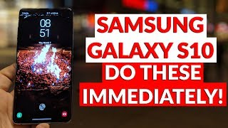 Samsung Galaxy S10 First 30 Things You Should Do Immediately To Make It 10x Better -YouTube Tech Guy