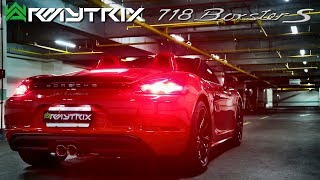 2017 Porsche 718 Boxster S w/ Armytrix Exhaust POPS & BANGS! by AutoTopNL