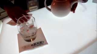 Уиски Фест София 2012, приготвяне на коктейл с Drambouie