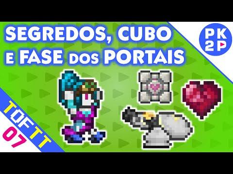 Procurando Segredos, Portais e Companion Cube! • Tales of the Terrarian#07
