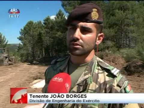 Militares em Moimenta da Beira