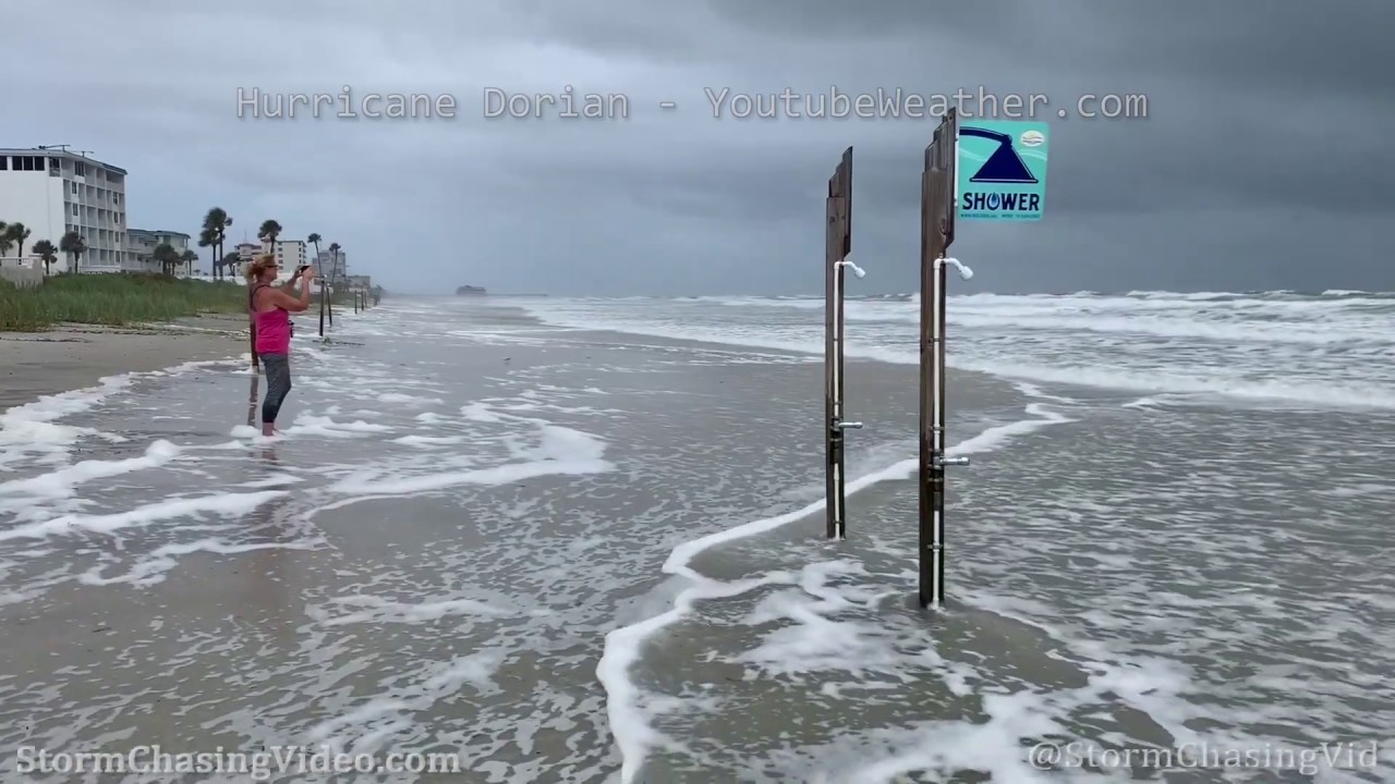 Hurricane Dorian Affects Ponce Inlet And Daytona Beach 9 3 2019
