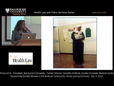 Researching Genetic Disease in the Bedouin Community: Ethical and Social Issues