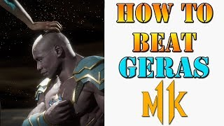 Mortal Kombat 11 - How to survive against and beat Geras