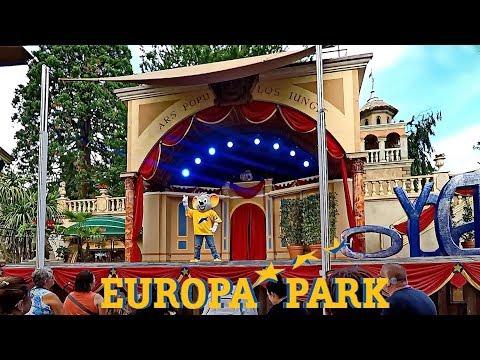 Europa-Park 2017 - Freizeitpark und Erlebnis-Resort - Clip von kirmesmarkus