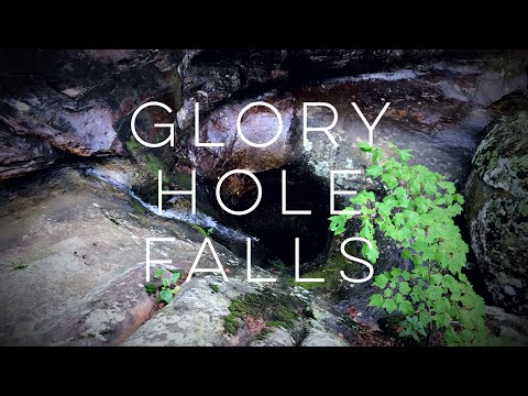 Waterfall Hunting Arkansas 💦 Hiking Glory Hole Falls 🏕 Part 2