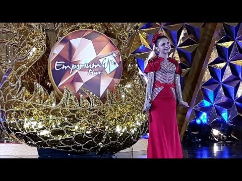 Bikin Merinding!! Rossa - Bulan Dikekang Malam (ayat Ayat Cinta2) Live At Emporium Pluit 2018