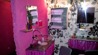 ** Handmade** Beauty Salon for 12inch Dolls