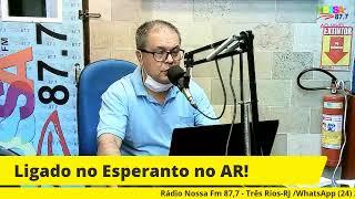 LIGADO NO ESPERANTO! 25/04/2021