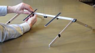 From Tablet To Laptop LOW POSITION. PlyGo, the ergonomic, adaptable & portable aluminium stand