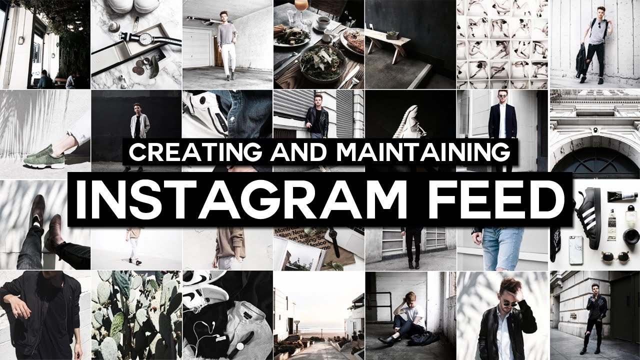 How To Maintaining Instagram Feed Aesthetic Instagram Series