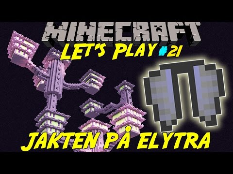 MINECRAFT | JAKTEN PÅ ELYTRA WINGS | Let's play med SoftisFFS | #21