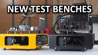 Dimastech Mini V1.0 and Easy V3.0 Test Benches