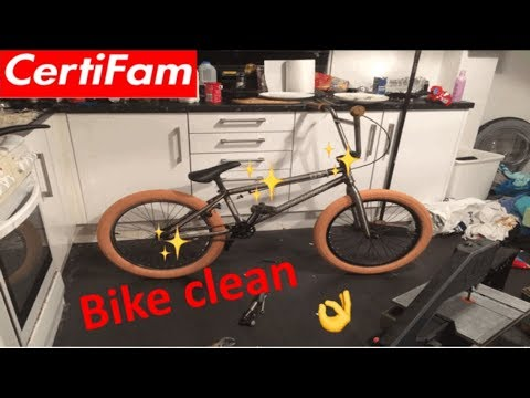 How I clean my BMX 2018