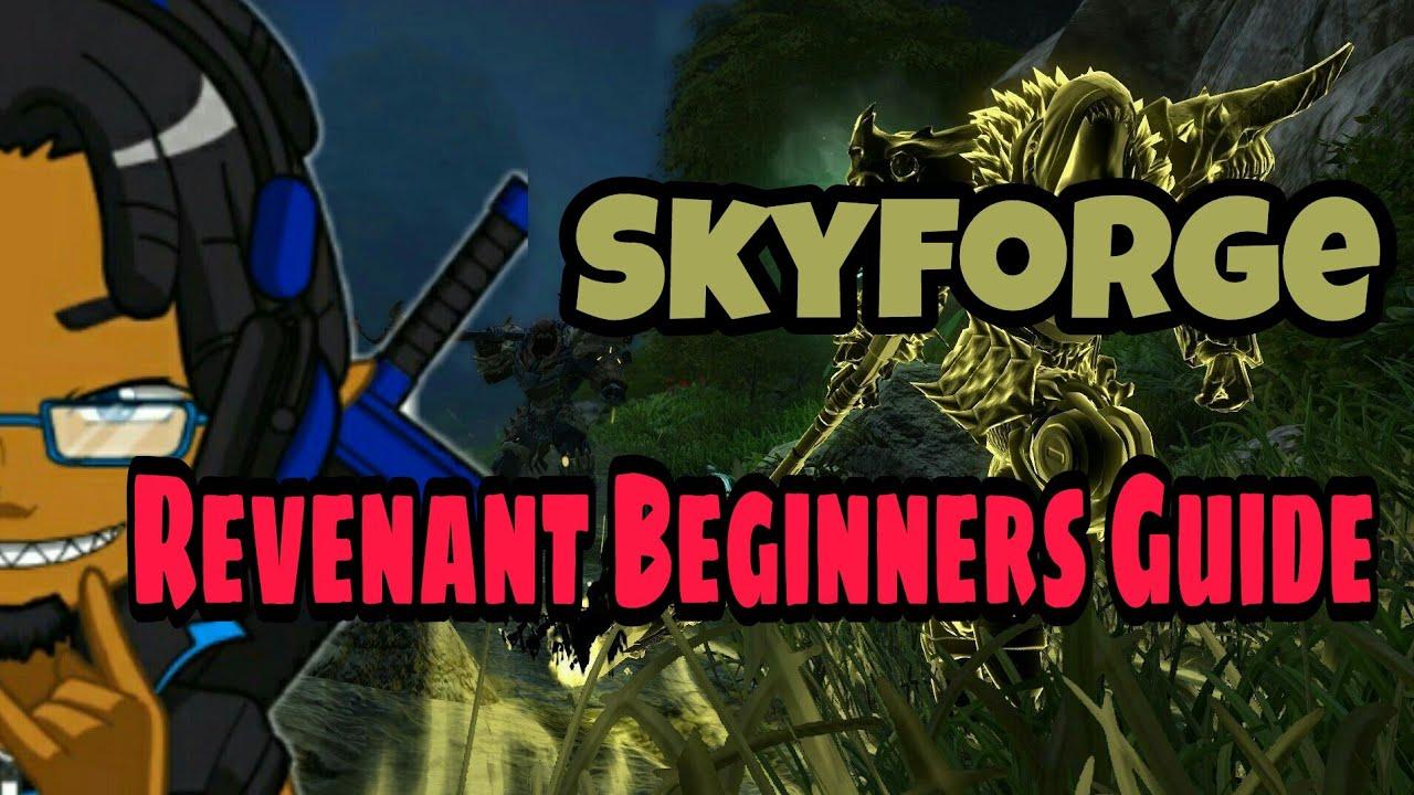 Skyforge - Revenant Rotation & Beginners Guide