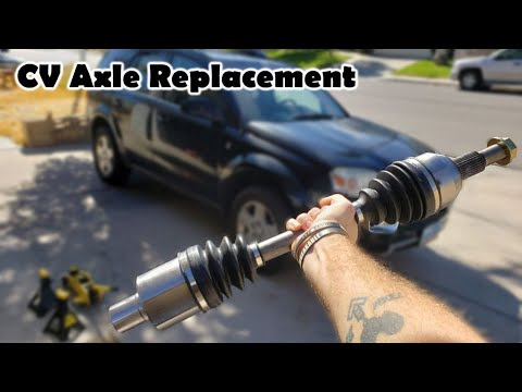 How to Replace a CV Joint Axle Assembly – Replacement (Saturn Vue 2004-2007 – 66-1399)