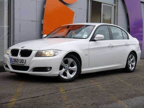 Review Our 2010 BMW 320d EfficientDynamics White Saloon For Sale In ...