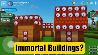 Immortal Buildings? - Block Craft 3d: Building Simulator Games for Free screenshot 1