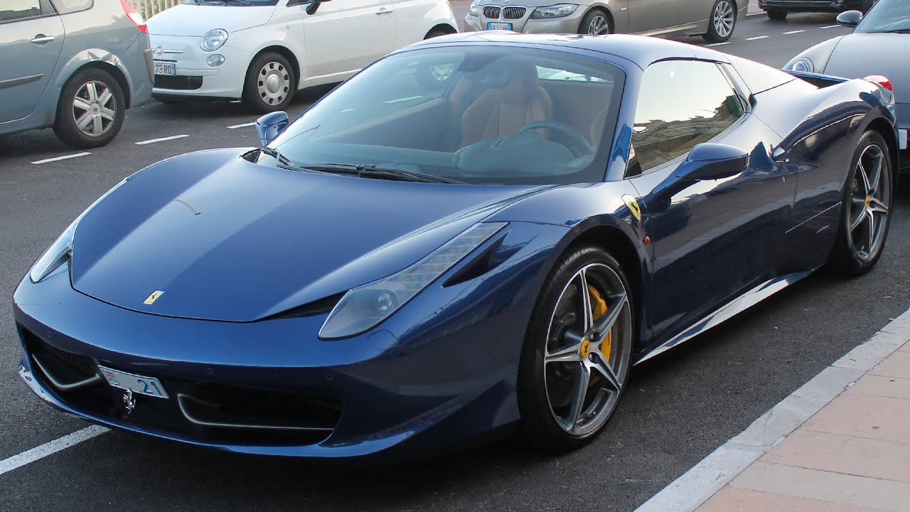 Ferrari  Spider Blue Tour De France