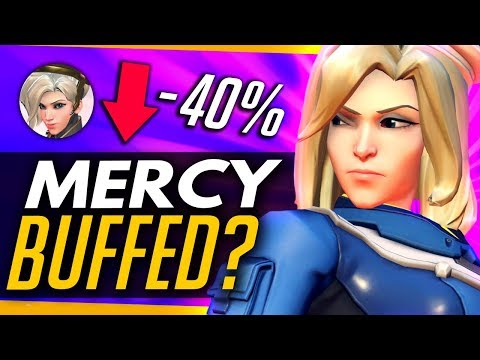 Overwatch | MERCY ACCIDENTALLY BUFFED? (Potential PTR Bug) + How Viable is Mercy / Ana?