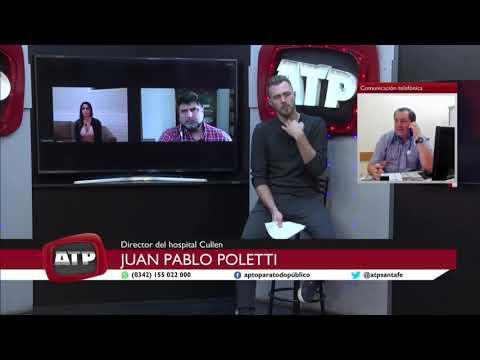 Juan Pablo Poletti - director del Hospital José María Cullen - ATP 07 08 2020