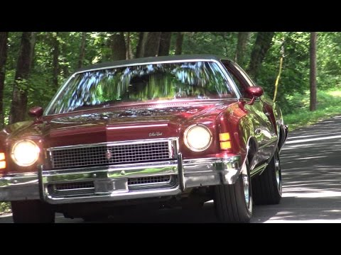 1973 Chevy Monte Carlo 350 V8 test drive in Dallas, Texas
