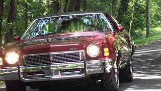 1973 Chevy Monte Carlo 350 V8 test drive in Dallas, Texas
