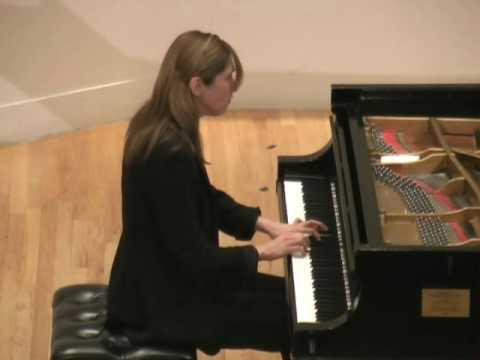Inesa Sinkevych Plays Schubert Sonata in A Major D959 2nd Movement