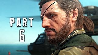 Metal Gear Solid 5 Phantom Pain Walkthrough Gameplay Part 6 - Mother Base (MGS5)