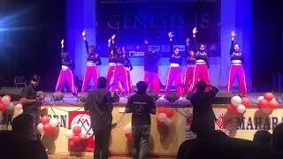 NRITYA 2018- WESTERN DANCE SOCIETY OF JANKI DEVI MEMORIAL COLLEGE.