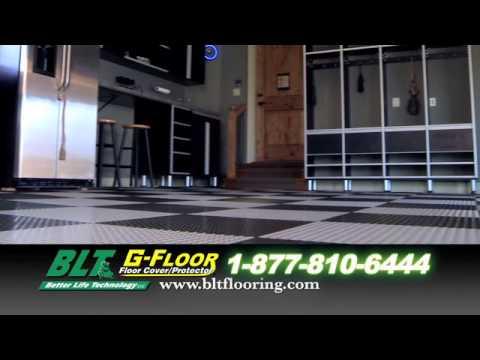 G Floor Garage Floor Covering From BLT   YouTube