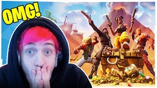 NINJAS FIRST GAME OF FORTNITE SEASON 8!