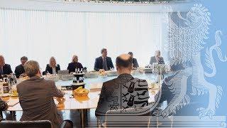 Erste Sitzung des neuen Bayerischen Kabinetts - Bayern