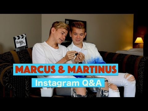 Marcus & Martinus Instagram Q&A | Bubble Gum TV