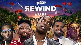 YouTube Rap Rewind 2018 🎤 New Years Mega Mix (8D AUDIO)