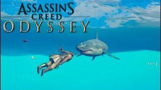 TIBURONES Y LEONES en ASSASSIN'S CREED: ODYSSEY