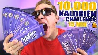 10.000 KALORIEN CHALLENGE In 15 MINUTEN! NICHT NACHMACHEN!!