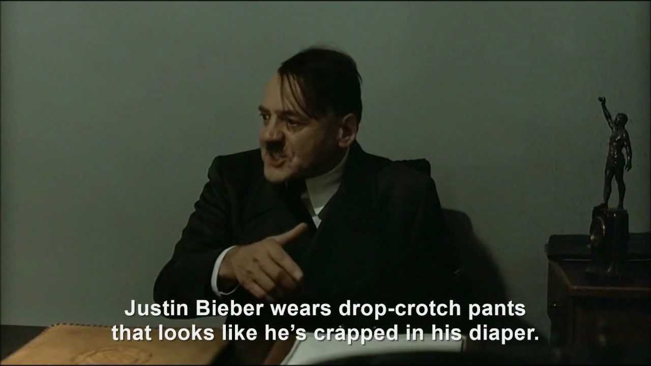 Hitler is informed it's Justin Bieber's birthday