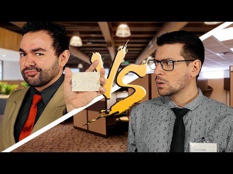 CHEFE vs. FUNCIONÁRIO ♫