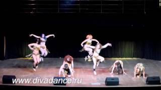 Ритуал Афроджаз, модерн афро-танцы от школы танца Диваданс африканские танцы и ритмы