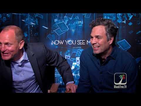 Woody Harrelson and Mark Ruffalo on Illuminati, Super Delegates and Now You See Me 2