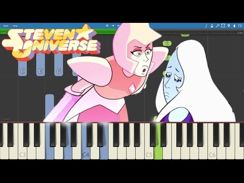 Steven Universe - What's The Use Of Feeling (Blue) - Piano Tutorial - That Will Be All