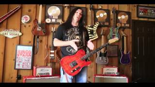 Mark Slaughter Shaw Audio Tonerod MG Tube Amp Head Demo