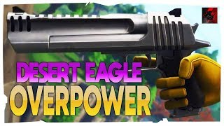 THE DESERT EAGLE IS OP! - Fortnite ITA CRONox BUG