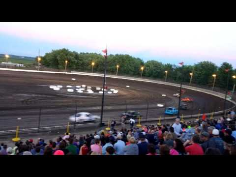 6/23/17 - Sycamore Speedway 6 Lap Compact Heat