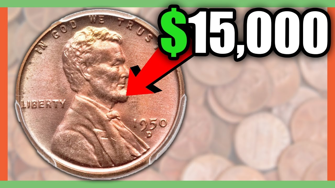 15 000 Rare Pennies Worth Money Penny Values By Year